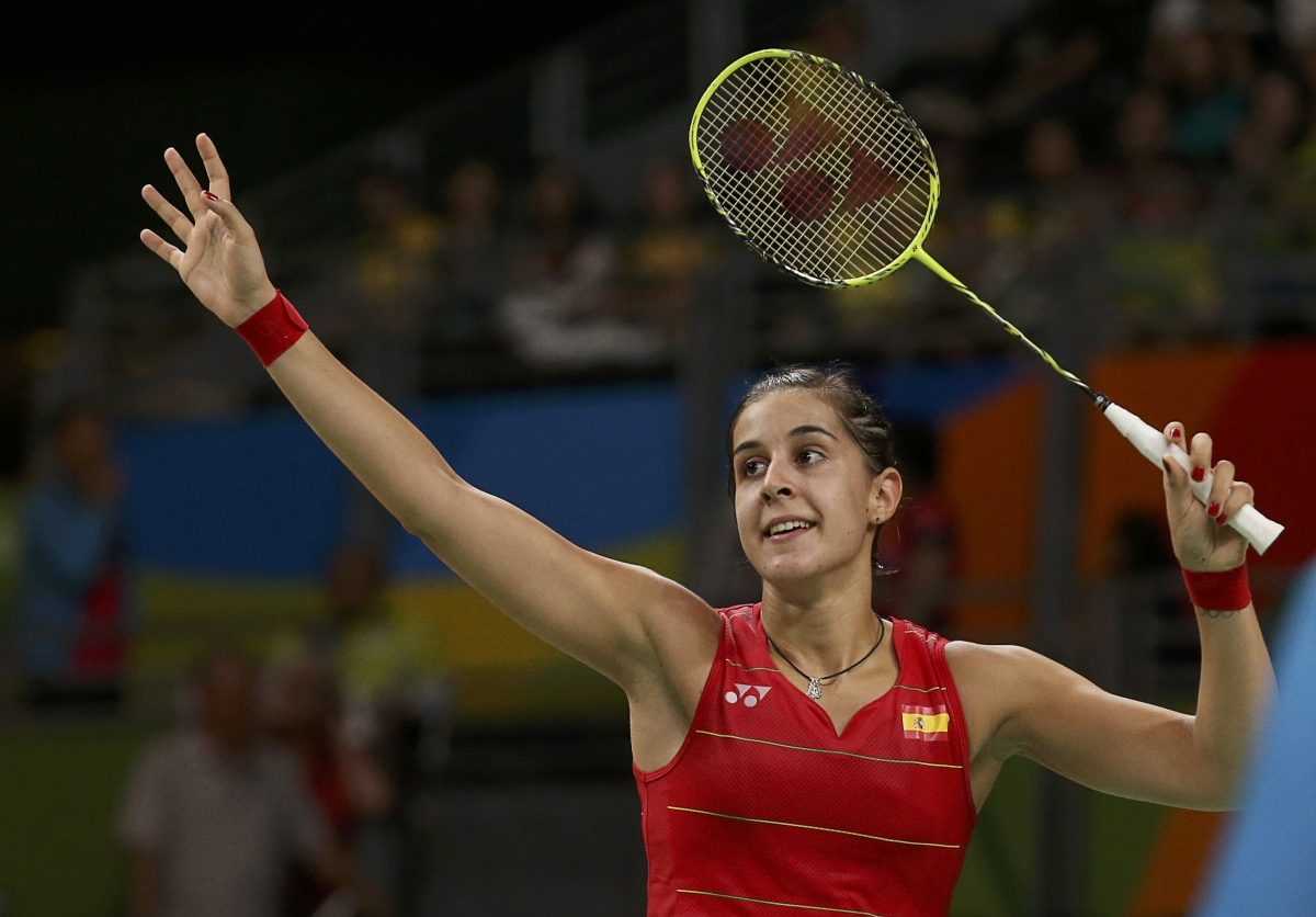 Image result for carolina marin rio smile