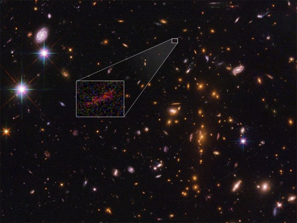 NASA's Hubble and Spitzer space telescopes capture ...