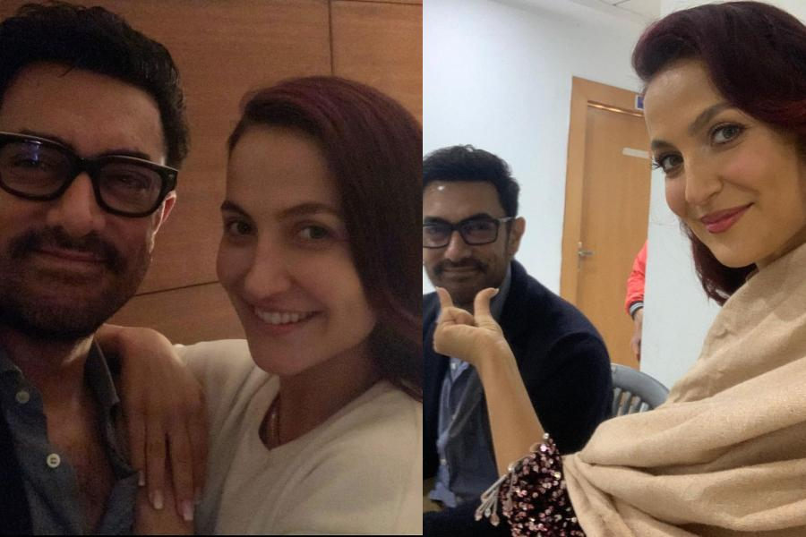 Leaked clip of Aamir Khan;s sensual dance with Elli Evram at a nightclub  for a film shoot goes viral, Elli pens a heartfelt note for the  perfectionist (Watch) - IBTimes India