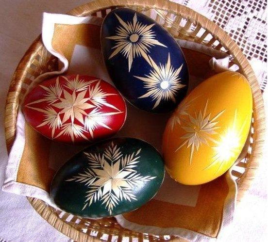 Gallery.ru / Фото #2 - 4 способа декора пасхальных яичек ...