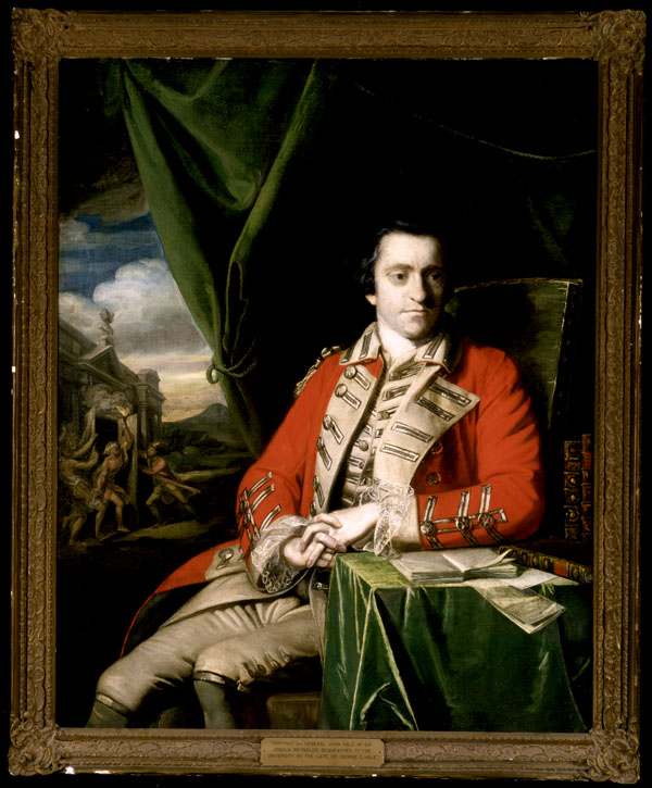 Portrait of Colonel John Hale, circa 1763-1764.