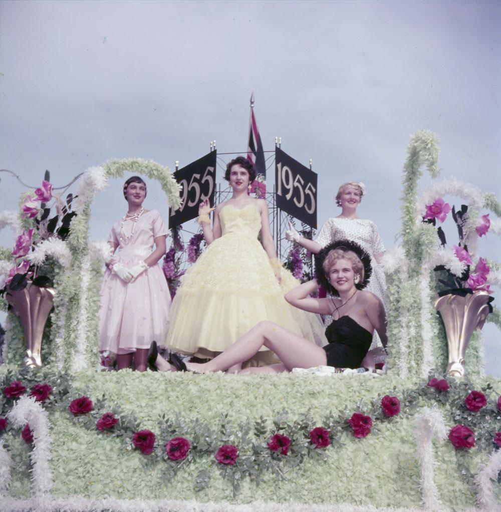 1956 canada parade float