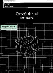 Honda EM5000SX Manuals