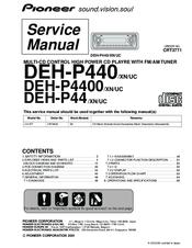 Pioneer Deh P4400 Wiring Diagram  Somurich