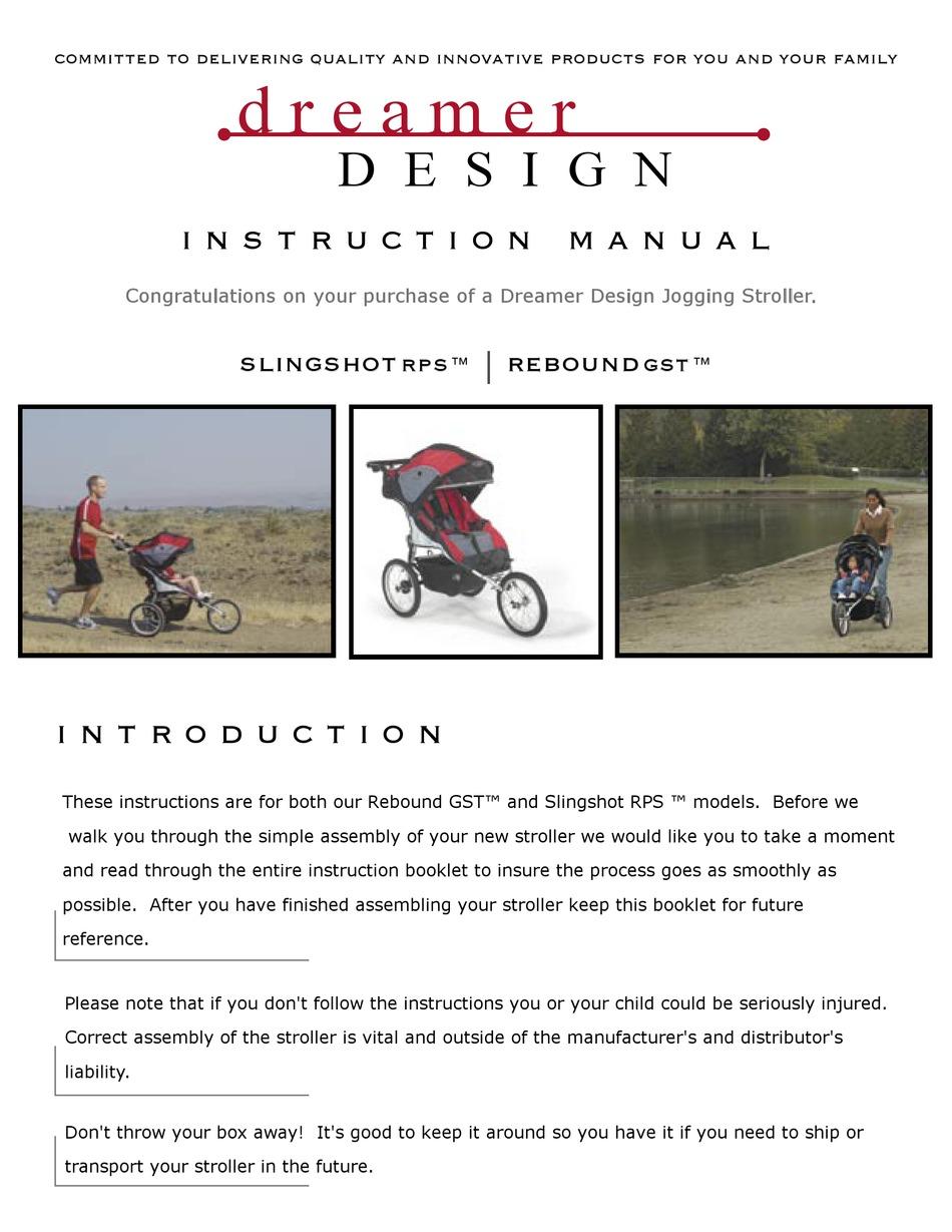 dreamer design rebound gst instruction