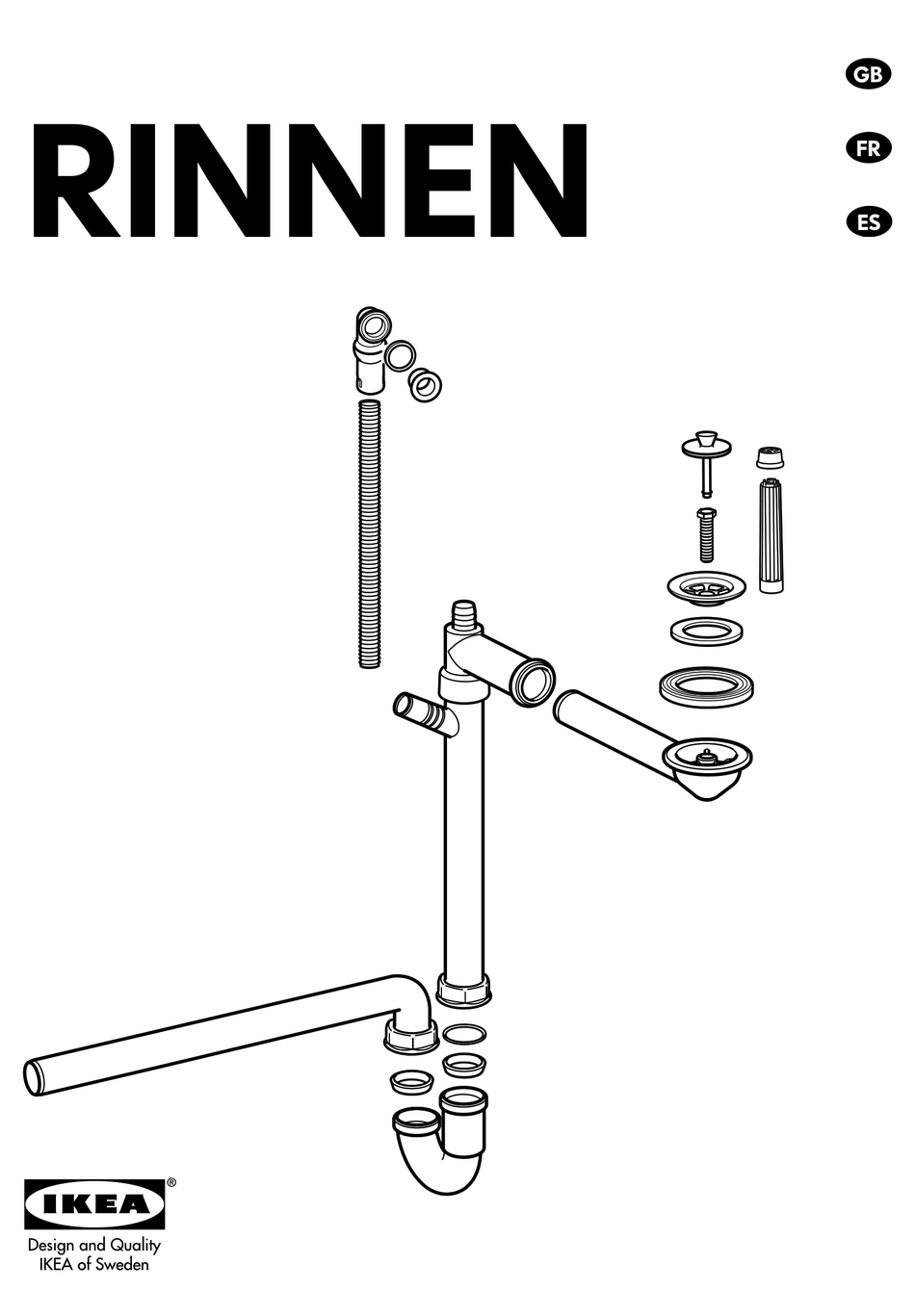ikea rinnen assembly instructions