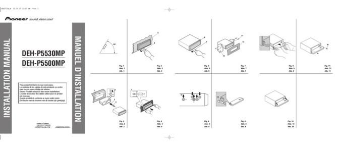 pioneer dehp5530mp installation manual pdf