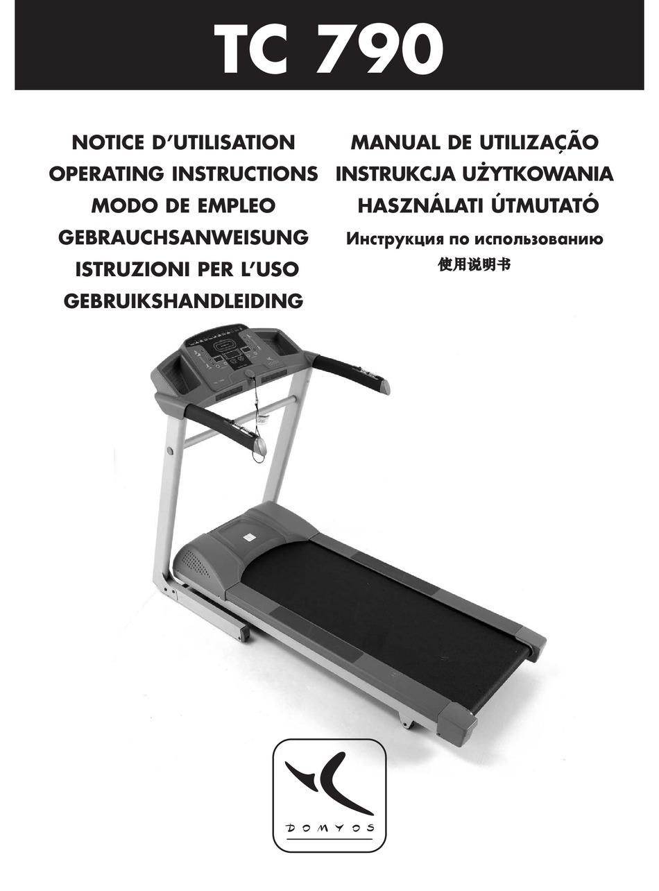 domyos tc 790 operating instructions