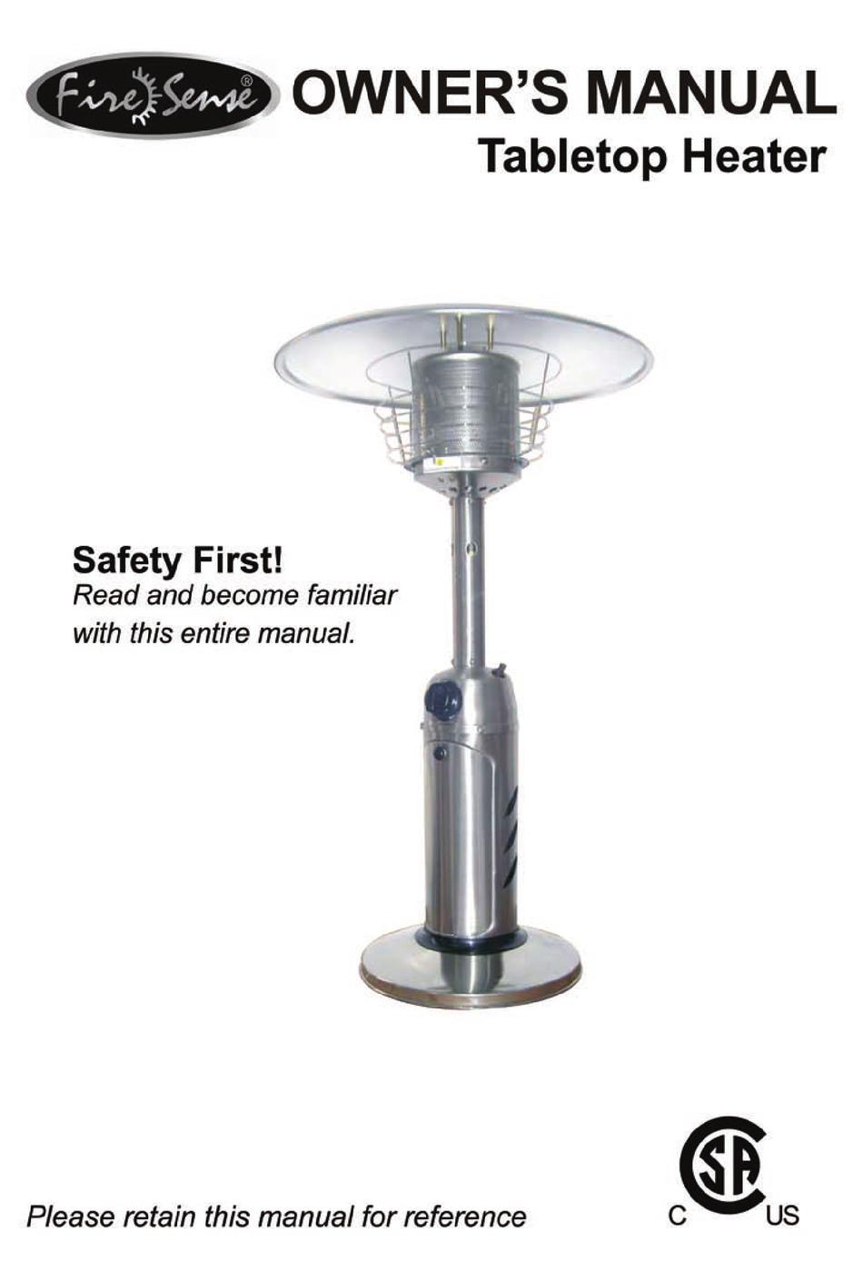 fire sense firesense 60262 owner s
