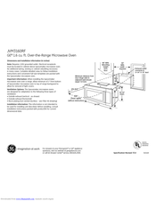 ge jvm3160rfss manuals manualslib