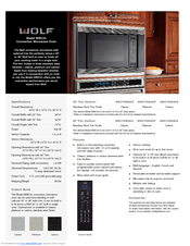 wolf mwc24 manuals manualslib
