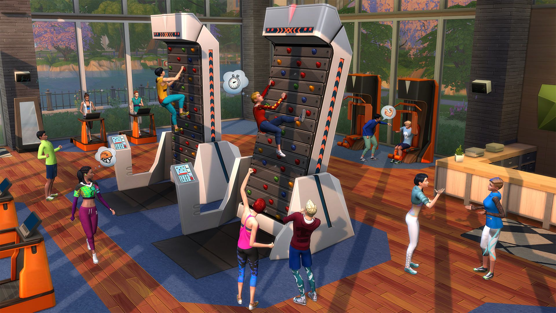 The Sims 4 Fitness Stuff Free Download