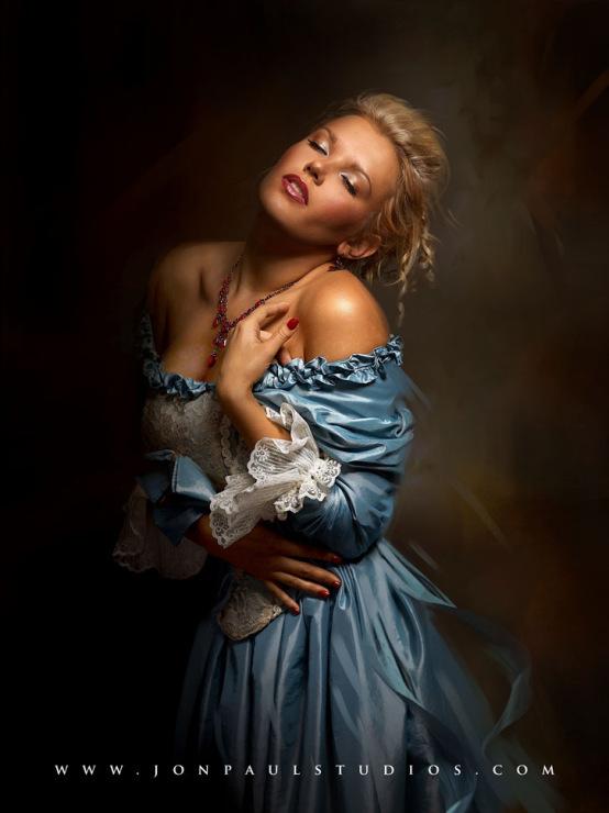 руса и страстна красавица