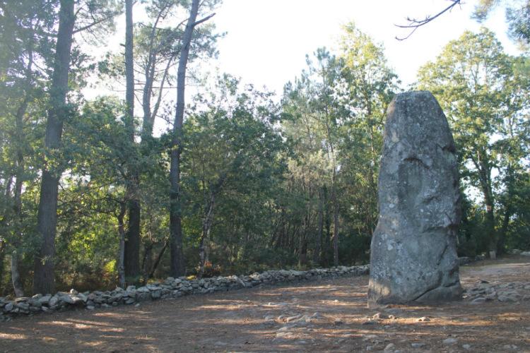 Карнак (Carnac). Кромлех - отдельно стоящий камень