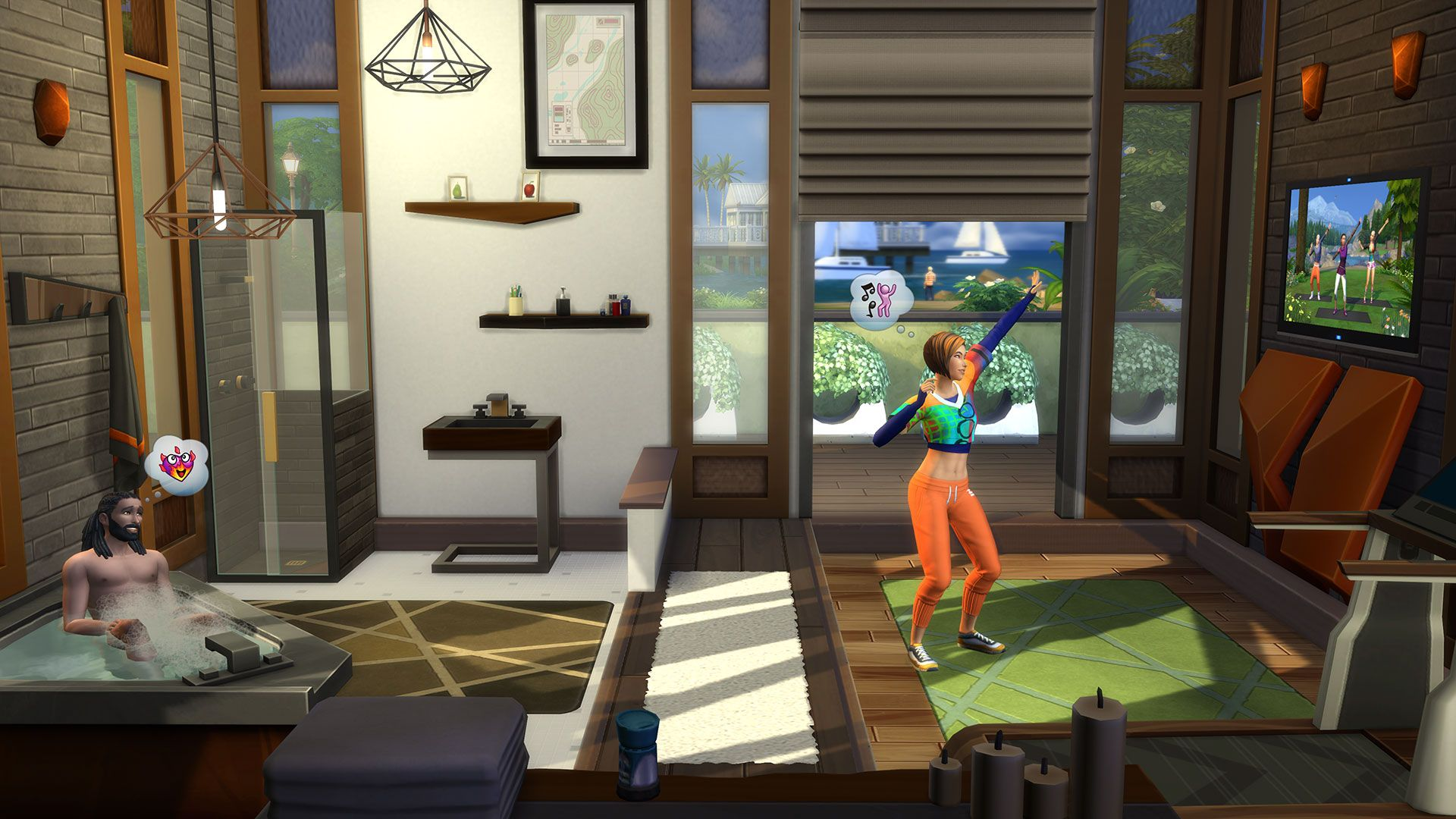 The Sims 4 Fitness Stuff