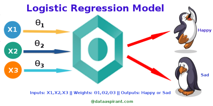 Credit Score Check >> How the logistic regression model works