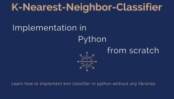 Knn sklearn, K-Nearest Neighbor implementation with scikit learn