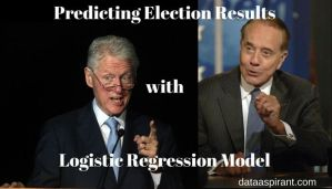 Predicting Election Results with Logistic Regression model