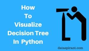 Visualize Decision Tree