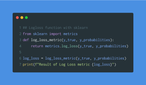 Logloss with scikit learn