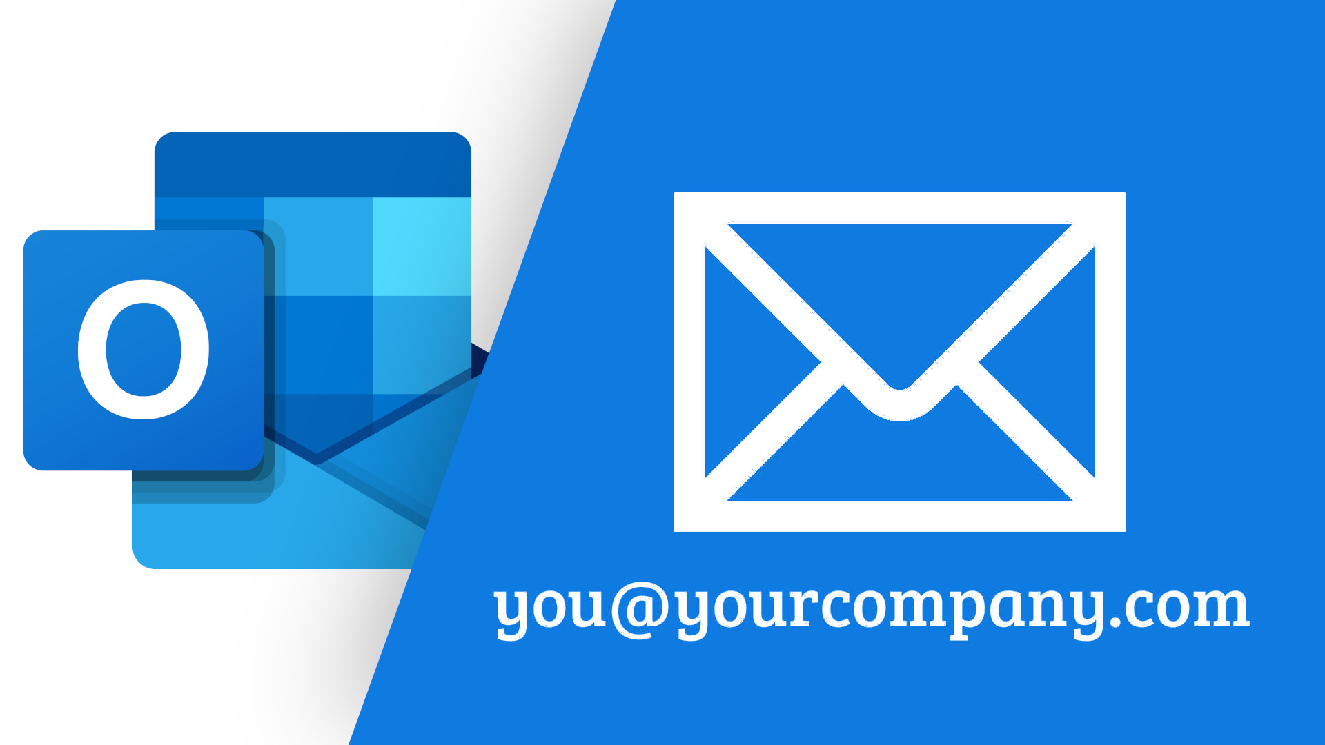 How to add custom email addresses in Outlook App.