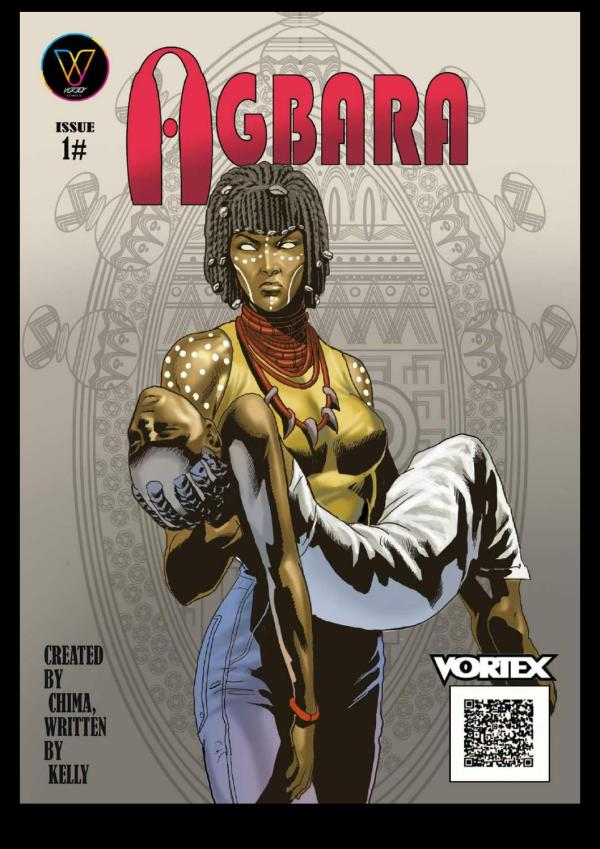 Agbara Issue 1 Cover African Comic