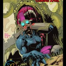 Cover of Wrathhouse Issue 2