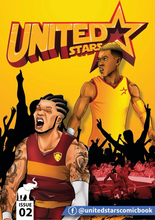 united stars South African Comic book