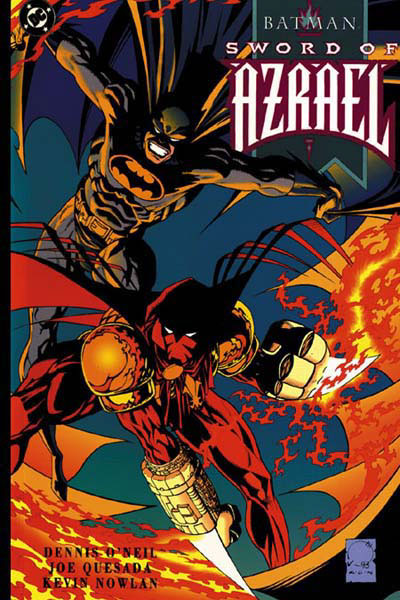 'Batman: Sword Of Azrael' (1993), marks the first appearance of Azrael, the Avenging Angel of the Order of St. Dumas.