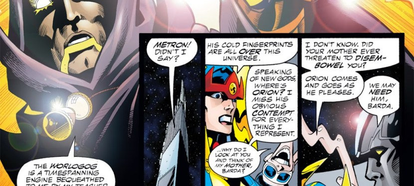 DC Day: Time Traveling From The 853rd Century, Hourman Speaks Of The Worlogog, The Hourglass Of The Gods