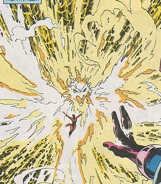 Battles Of The Week: Phoenix (Rachel Summers) vs Galactus.