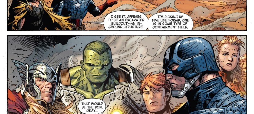 Marvel Day: In An Alien Invasion, Thanos And His Army Battle Earth In Marvel's 'Infinity'