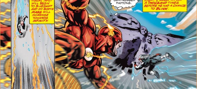 Feat: Flash, 'JLA' #3