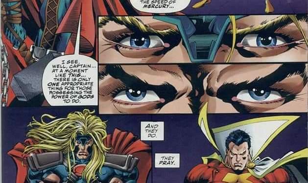 Battles Of The Week: Captain Marvel (Shazam) vs Thor (Re-Published)