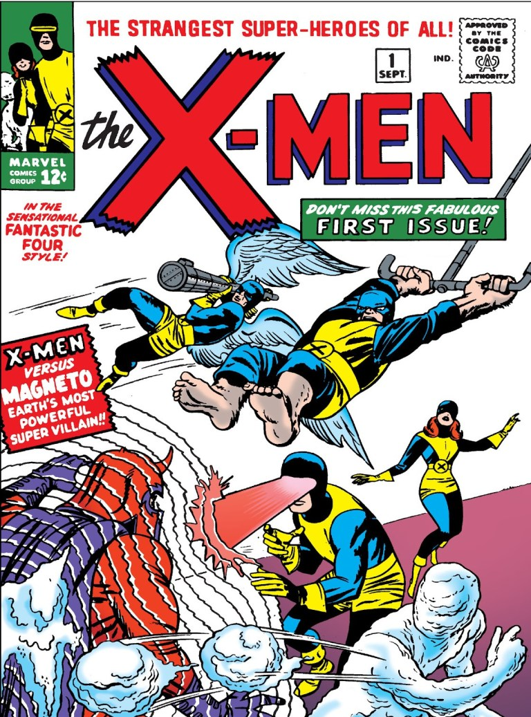 'X-Men' (1963) #1 marks the first appearance of the X-Men in Marvel continuity. The original team consisted of Cyclops, Marvel Girl, Beast, Angel and Iceman.
