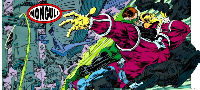 Battles Of The Week: Green Lantern (Hal Jordan) vs Mongul I
