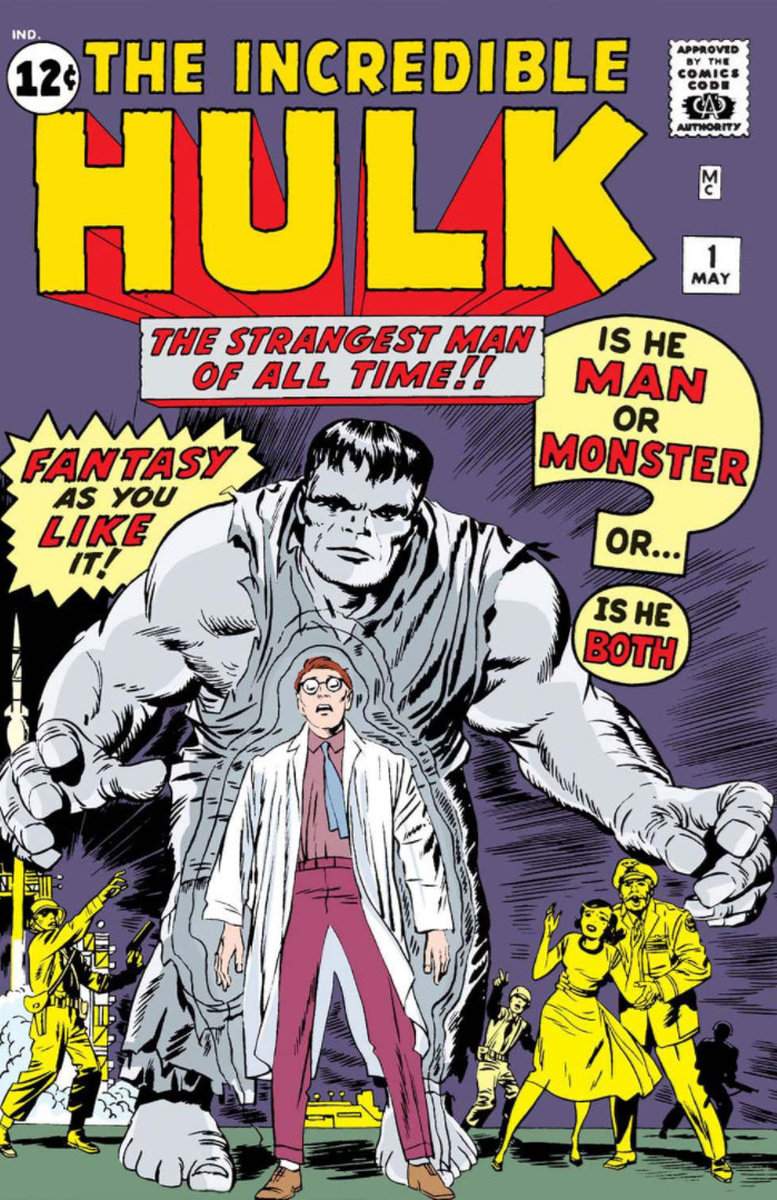 """'The Incredible Hulk' (1962) #1, titled """"The Hulk"""", marks the first appearance of Hulk in Marvel continuity."""