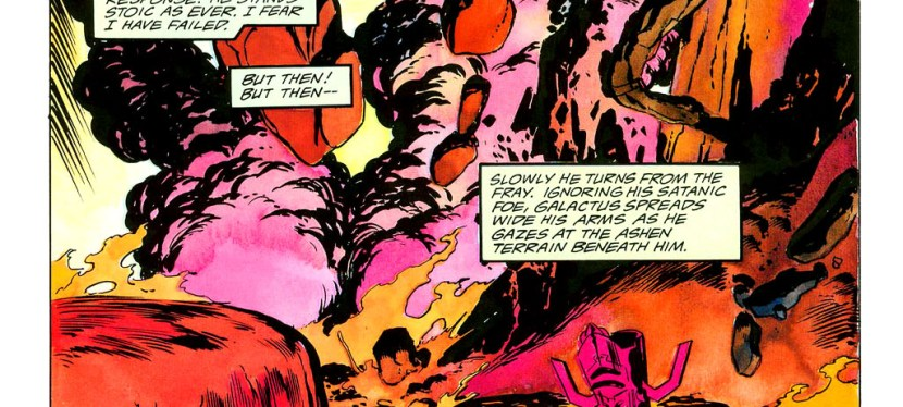 Feat: Galactus, 'Silver Surfer' #38