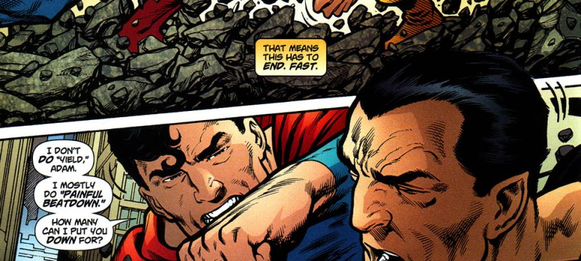 Battles Of The Week: Superman vs Black Adam (Hero vs Villain)