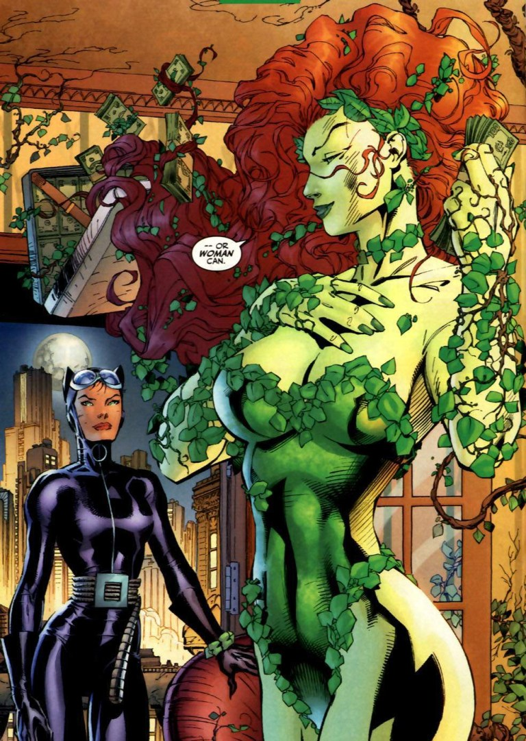 In 'Batman' (2002) #608, Catwoman under mind control, delivers Lamont's money to Poison Ivy.