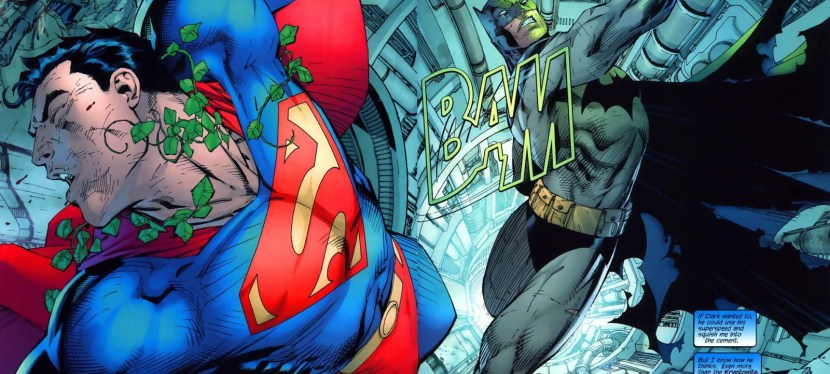 """DC Day: In """"Hush"""", Batman Has To Free Superman From Poison Ivy's Mind Control And Recover Lamont's Ransom"""