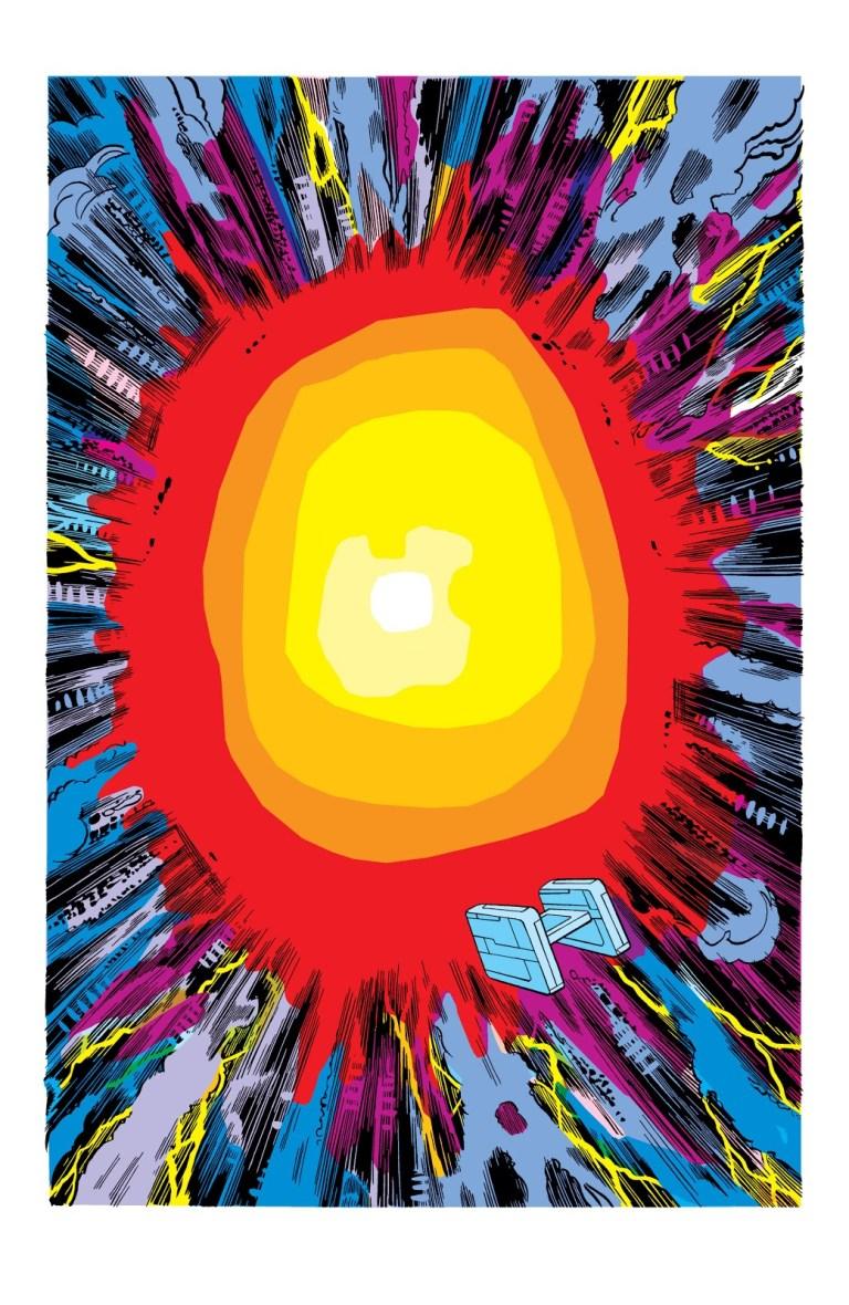 In 'Avengers Annual' (1977) #7, Thanos detonates a star using the Soul Gem.