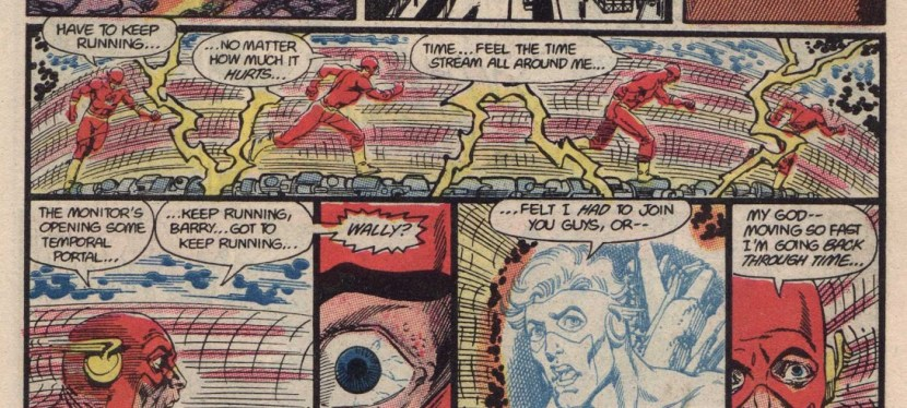 Feat: Flash (Barry Allen), 'Crisis On Infinite Earths' #8