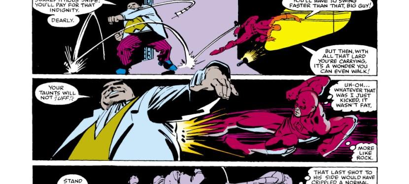Battles Of The Week: Daredevil vs The Kingpin (Hero vs Villain)