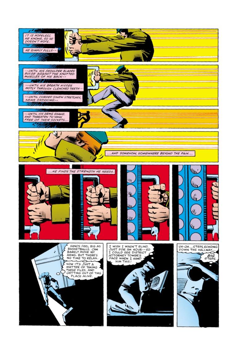 In 'Daredevil' (1981) #171, Matt Murdock goes undercover to investigate the Kingpin.