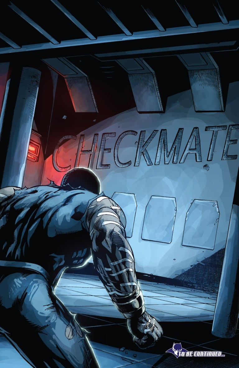 In 'Doomwar' (2010) #4, T'Challa enters the Vibranium vault and finds out all the Vibranium is gone.