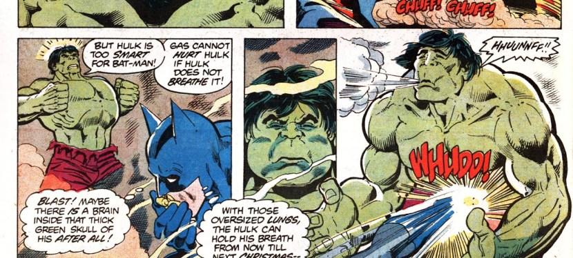 Feat: Batman, 'Batman vs The Incredible Hulk' #1