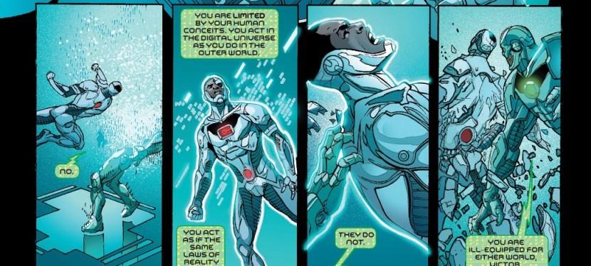 Battles Of The Week: Cyborg vs Grid (Hero vs Villain)