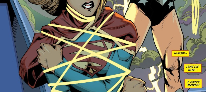 """DC Day: During The """"H'el On Earth"""" Storyline, Wonder Woman Bests Supergirl In Combat"""