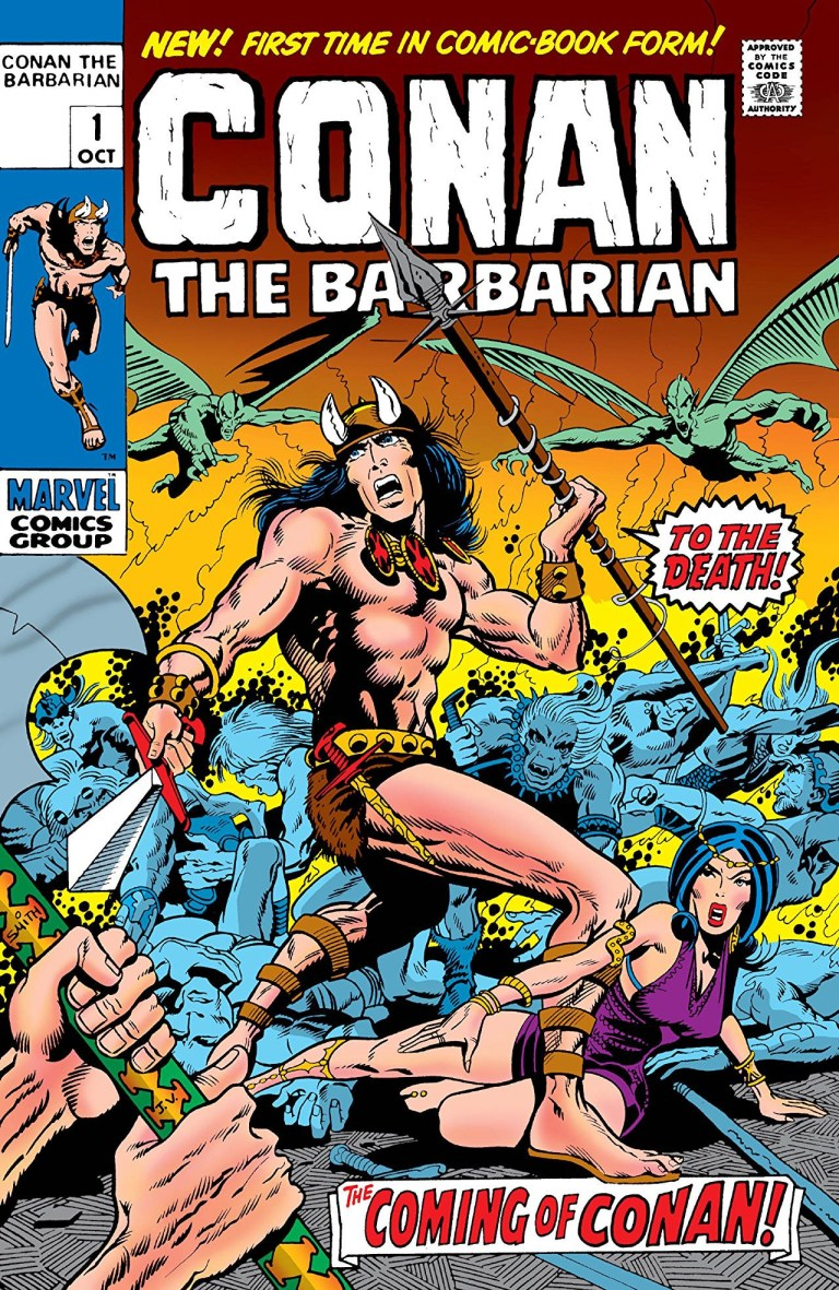 """'Conan The Barbarian' (1970) #1, titled """"The Coming of Conan"""", marks the first appearance of Conan in Marvel continuity."""